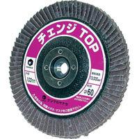 柳瀬 チェンジTOP 80# M10-CHA 80 1セット(10個:1個×10枚) 322-4465 (直送品)