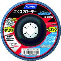 サンゴバン NORTON フラップディスク エクスプローラーノルゾン 40# 2FL100XPRDNZ 1セット(10枚入) 322ー3591 (直送品)