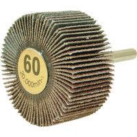柳瀬 ムゲン軸付フラップホイール 60# MF4025 60 1セット(10個) 321-8767 (直送品)