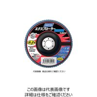 サンゴバン NORTON フラップディスク エクスプローラーノルゾン 100# 2FL100XPRDNZ 1セット(10枚入) 322ー3574 (直送品)