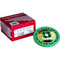 ベルスター研磨材工業 ベルスター ベルストーン金属用 220# BSW 1セット(5枚入) 156ー9490 (直送品)