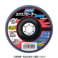 サンゴバン NORTON フラップディスク エクスプローラーノルゾン 80# 2FL100XPRDNZ 1セット(10枚入) 322ー3612 (直送品)