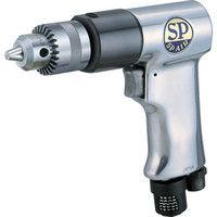 エス.ピー.エアー SP サイレンサー付エアードリル10mm SP1522 1台 249ー0480 (直送品)