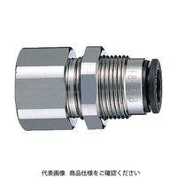 千代田通商 チヨダ ファイブフィメイルバルク 10mm・RC3/8 F1003FB 1個 161ー4738 (直送品)