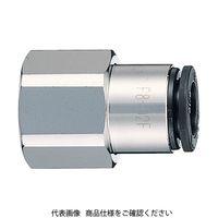 千代田通商 チヨダ ファイブフィメイルコネクタ 6mm・RC1/8 F601F 1セット(1個入) 158ー5851 (直送品)