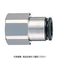 千代田通商 チヨダ ファイブフィメイルコネクタ 6mm・RC1/4 F602F 1セット(1個入) 158ー5860 (直送品)