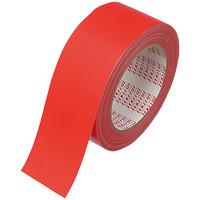 カラー布テープ No.600V 0.22mm厚 50mm×25m巻 赤 N60RV03 積水化学工業
