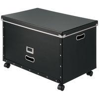 パルプボード収納ボックス(組立式) LLキャスター付 アスクル