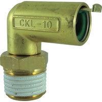 千代田通商 チヨダ タッチコネクターエルボコネクター(金属) CKL-10-04 1個 327-0220 (直送品)