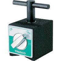 トラスコ中山 TRUSCO αマグネットホルダ ハンドル付 吸着力800N TMH80AH 1台 329ー5192 (直送品)