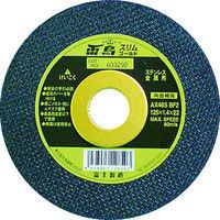 富士製砥 富士 薄物切断砥石雷鳥スリムゴールド180X1.6X22 RSG180 1セット(5枚入) 334ー6757 (直送品)
