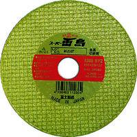 富士製砥 富士 切断砥石スーパー雷鳥 125X2.5X22 R125 1セット(5枚入) 334ー6684 (直送品)