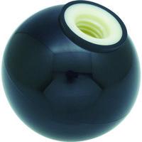 トラスコ中山(TRUSCO) 樹脂製握り玉 芯金なし 黒 Φ20XM5mm P-TPB20-5BK 1個 337-4017 (直送品)