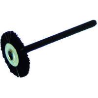 バーテック(BURRTEC) ワイラーミニチュアホイルブラシ黒馬毛 12650800 1袋(5本) 353-1155 (直送品)