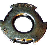 バーテック バーテック 取付用金属アダプター 381100 1セット(1組:2個入×1) 353ー7145 (直送品)
