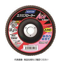 サンゴバン NORTON XPエースフラップディスク A400 2FL100XPRDACE400 1セット(10枚入) 364ー1732 (直送品)