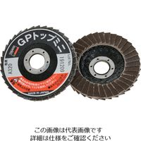 トラスコ中山(TRUSCO) GPトップミニ Φ50X穴径9.6mm #320 (5枚入) GP5010A-320 1箱(5枚) 360-9758 (直送品)