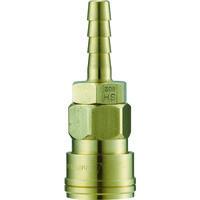 長堀工業 ナック クイックカップリング AL20型 真鍮製ホース取付用 CAL22SH2 1個 364ー2674 (直送品)