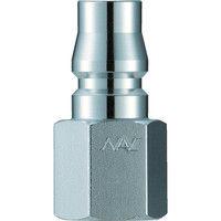 長堀工業 ナック クイックカップリング AL40型 鋼鉄製オネジ取付用 CAL44PF 1個 364ー3140 (直送品)
