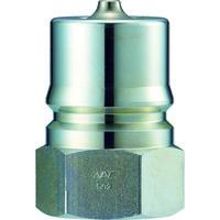 長堀工業 ナック クイックカップリング S・P型 鋼鉄製 オネジ取付用 CSP08P 1個 364-4073 (直送品)