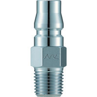 長堀工業 ナック クイックカップリング AL20型 鋼鉄製メネジ取付用 CAL24PM 1個 364ー3018 (直送品)