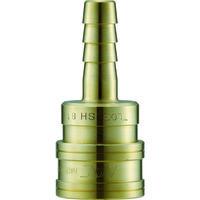 長堀工業 ナック クイックカップリング TL型 真鍮製 ホース取付用 CTL03SH2 1個 364-4804 (直送品)