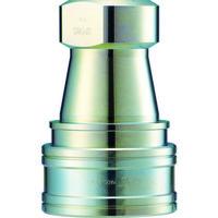 長堀工業 ナック クイックカップリング S・P型 鋼鉄製 オネジ取付用 CSP08S 1個 364-4081 (直送品)