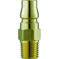 長堀工業 ナック クイックカップリング AL20型 真鍮製 メネジ取付用 CAL22PM2 1個 364-2593 (直送品)