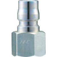長堀工業 ナック クイックカップリング TL型 鋼鉄製オネジ取付用 CTL08PF 1個 364ー5177 (直送品)
