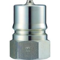 長堀工業 ナック クイックカップリング S・P型 鋼鉄製オネジ取付用 CSP04P 1個 364ー4031 (直送品)