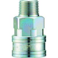 長堀工業 ナック クイックカップリング TL型 鋼鉄製 メネジ取付用 CTL03SM 1個 364-4821 (直送品)