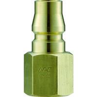 長堀工業 ナック クイックカップリング AL20型 真鍮製 オネジ取付用 CAL22PF2 1個 364-2534 (直送品)