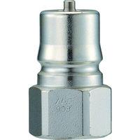 長堀工業 ナック クイックカップリング HP型 特殊鋼製高圧タイプ オネジ取付用 CHP03P 1個 364ー3859 (直送品)