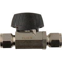 フジキン(Fujikin) ステンレス鋼製3.92MPaパワフル継手付ボール弁 PUBV-94-12 1個 365-5211 (直送品)