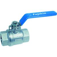 フジキン(Fujikin) ステンレス鋼製3.92MPaフルボアタイプボール弁15A(1/2) UBVNF-14D-R 1個 365-5741 (直送品)