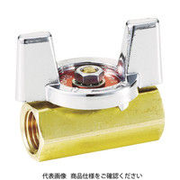 フジキン(Fujikin) 黄銅製1.96MPaミニボール弁10A(3/8) DBV-12C-BU-R 1個 365-5075 (直送品)
