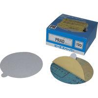 三共理化学 三共 のりつき研磨紙PR円形穴なし 125mm PRAD-400 1セット(100枚) 322-6301 (直送品)
