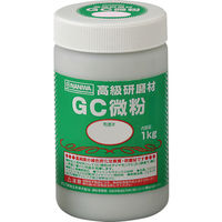 ナニワ研磨工業 研磨材 GC粗粒1kg #80 RC-3111 1個 334-9128 (直送品)