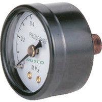 トラスコ中山 TRUSCO 圧力計 表示板径Φ50 埋込型口径R1/4表示 TPG50 1個 258ー8269 (直送品)