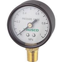 トラスコ中山 TRUSCO 圧力計 表示板径Φ50 立型口径R1/4表示 TPG50A 1個 258ー8277 (直送品)
