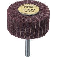 トラスコ中山 TRUSCO ナイロンミックスホイール 外径50X厚25X軸6 5個入 320# FM5025 173ー0118 (直送品)
