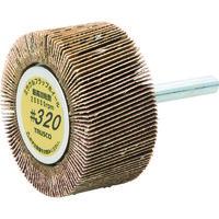 トラスコ中山 TRUSCO ミラクルフラップホイール 外径50X厚25X軸6 5個入 320# MR5025 172ー9772 (直送品)