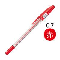 三菱鉛筆(uni) リサイクルボールペン SA-R 赤インク 1本