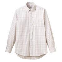 FACE MIX(フェイスミックス) ユニセックス 大きいサイズ 長袖シャツ ベージュ 3L FB4506U (直送品)