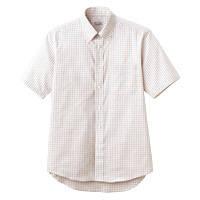 FACE MIX(フェイスミックス) 事務服 ユニセックス 大きいサイズ 半袖シャツ ベージュ LL FB4507U (直送品)