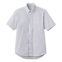 FACE MIX(フェイスミックス) 事務服 ユニセックス 半袖シャツ ブラック M FB4509U (直送品)