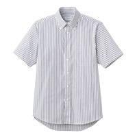 FACE MIX(フェイスミックス) 事務服 ユニセックス 大きいサイズ 半袖シャツ ブラック LL FB4509U (直送品)