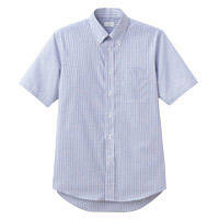 FACE MIX(フェイスミックス) 事務服 メンズ 大きいサイズ 半袖シャツ ネイビー 3L FB5018M (直送品)