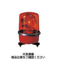 パトライト(PATLITE) SKP-A型 中型回転灯 Φ138 赤 SKP-104A R 1個 100-6878 (直送品)