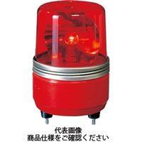 パトライト(PATLITE) SKH-EA型 小型回転灯 Φ100 赤 SKH-24EA R 1個 100-4654 (直送品)